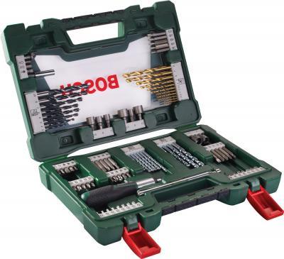 Набор оснастки Bosch V-Line Titanium 2.607.017.195 - в раскрытом виде