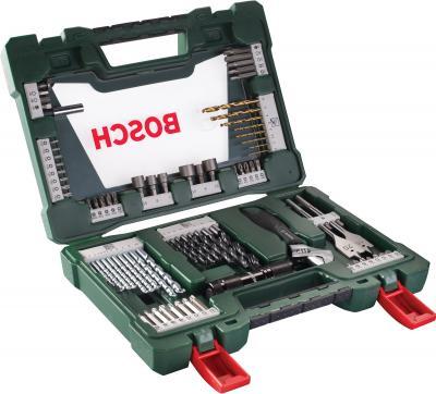 Набор оснастки Bosch V-Line Titanium 2.607.017.193 - в раскрытом виде