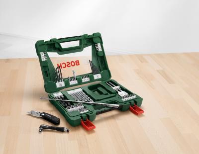 Универсальный набор инструментов Bosch V-Line 2.607.017.191 - в работе