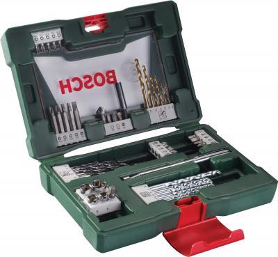 Набор оснастки Bosch V-Line Titanium 2.607.017.314 - в раскрытом виде
