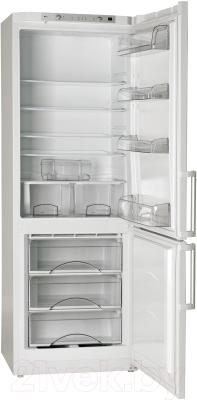 Холодильник с морозильником ATLANT ХМ 6224-100 - с открытой дверью