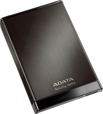 Внешний жесткий диск A-data Nobility NH13 750GB Black (ANH13-750GU3-CBK) - общий вид