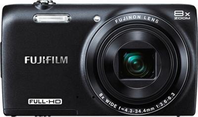 Компактный фотоаппарат Fujifilm FinePix JZ700 Black - вид спереди
