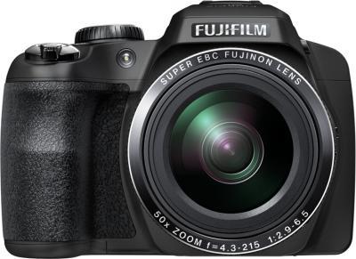 Компактный фотоаппарат Fujifilm FinePix SL1000 Black - вид спереди