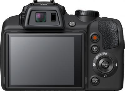 Компактный фотоаппарат Fujifilm FinePix SL1000 Black - вид сзади