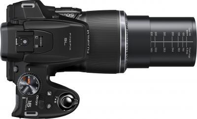 Компактный фотоаппарат Fujifilm FinePix SL1000 Black - вид сверху