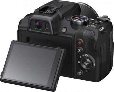 Компактный фотоаппарат Fujifilm FinePix SL1000 Black - поворотный экран