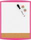 Магнитно-маркерная доска Rexel Joy Pink 2104181 (280x360) -