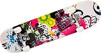 Скейтборд NoBrand 3018PU (Pink Graffiti) -