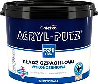 Шпатлевка Sniezkа Acryl Putz FS20 Finish (1.5кг, готовая) -