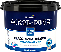 Шпатлевка Sniezkа Acryl Putz FS20 Finish (17кг, готовая) -
