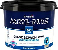 Шпатлевка Sniezkа Acryl Putz FS20 Finish (27кг, готовая) -