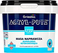 Шпатлевка Sniezkа Acryl Putz Light LT22 (0.25л, готовая) -