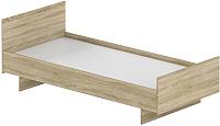 Односпальная кровать Славянская столица Д-Кр950 (дуб сонома) -