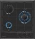 Газовая варочная панель Zigmund & Shtain GN 238.451 B -