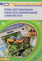 Пленка для ламинирования D&A art А4, 100мкм ПЭТ глянец (100шт) -