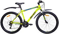 Велосипед Aist Quest (18, желтый/синий) -