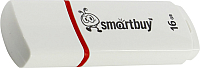 Usb flash накопитель SmartBuy Crown White 16GB (SB16GBCRW-W) -