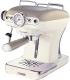 Кофеварка эспрессо Ariete 1389 Vintage (бежевый) -