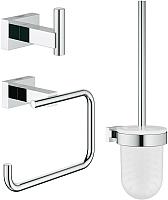 Набор аксессуаров для ванной GROHE Essentials Cube 40757001 -