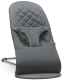 Детский шезлонг BabyBjorn Bliss Cotton Anthracite 0060.21 -