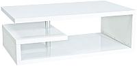 Журнальный столик Signal Tierra (белый) -