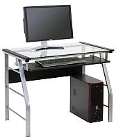 Компьютерный стол Halmar B18 (черный) -