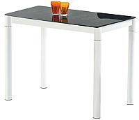 Обеденный стол Halmar Argus (черно-белый) -