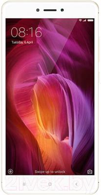 Смартфон Xiaomi Redmi Note 4X 16GB (золото)