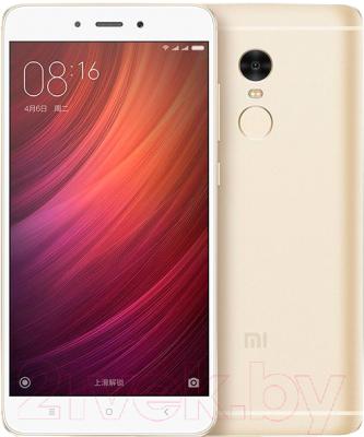 Смартфон Xiaomi Redmi Note 4X 64Gb (золото)