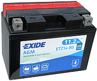 Мотоаккумулятор Exide Bike Maintenance Free ETZ14-BS (12 А/ч) -