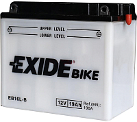 Мотоаккумулятор Exide EB16L-B (19 А/ч) -