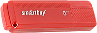 Usb flash накопитель SmartBuy Dock Red 8Gb (SB8GBDK-R) -
