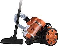 Пылесос Home Element HE-VC1801 (черный/оранжевый) -