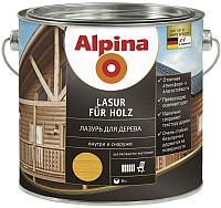 Пропитка для дерева Alpina Holzlasur Pinie (0.75л, пиния) -