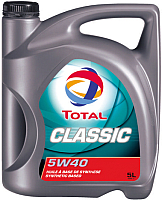 Моторное масло Total Classic 5W40 / 156721 (5л) -