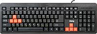 Клавиатура Dialog Standart KS-013U (черный/красный) -
