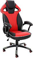 Кресло офисное Calviano Lucaro 2013167 (черно-красный) -