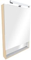 Шкаф с зеркалом для ванной Roca The Gap ZRU9302699 (бежевый) -