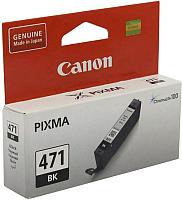 Картридж Canon CLI-471BK (0400C001AA) -