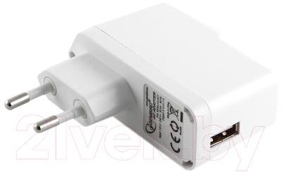 Сетевое зарядное устройство Gembird MP3A-UC-AC1 (белый)