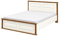 Двуспальная кровать Мебель-Неман Марсель МН-126-01 (крем/дуб кантри) -