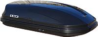 Автобокс Lux Flagman 370L 844093 (черный металлик) -