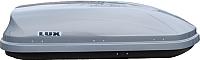 Автобокс Lux Flagman 370L 844116 (серый металлик) -