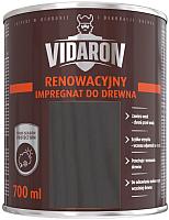 Пропитка для дерева Vidaron Impregnant R09 восстанавливающая (0.7л, антрацит серый) -