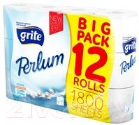 Туалетная бумага Grite Perlum (трехслойная, 12рул)