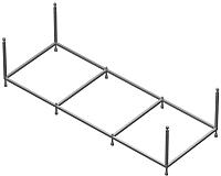 Монтажный набор Roca Easy 170x75 (ZRU9302900) -