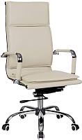 Кресло офисное Седия City Chrome Eco-109A (кремовый) -