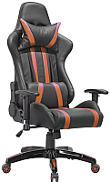 Кресло офисное Седия Gamer Eco (черный/оранжевый) -