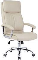 Кресло офисное Седия Levada Chrome Eco (кремовый) -